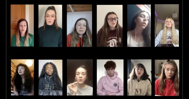 Concern at the level of anxiety among students prompts uplifting musical video from Young SVP