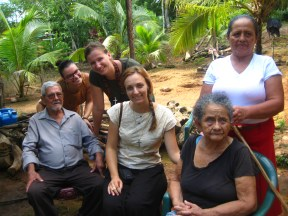 La visita de los ancianos en la montanya