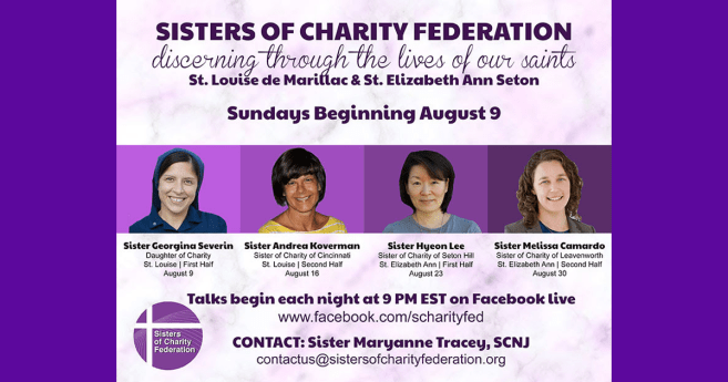 Discerning Through the Lives of Our Saints: Facebook Live Reflections in August