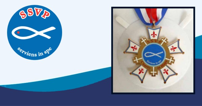 """The Jesuit Refugee Service Receives """"Charity in Hope"""" Medal"""