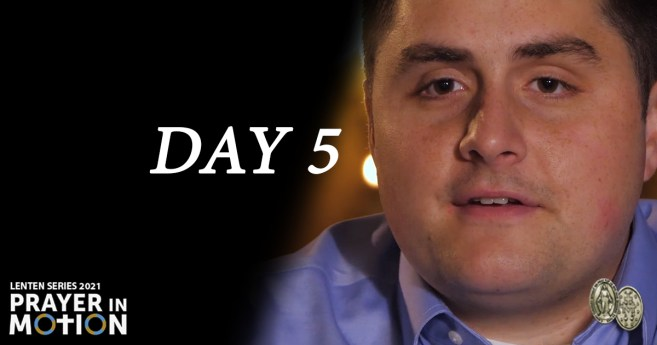 Lenten Video Series: Day 5, Filled with God's Love and Joy