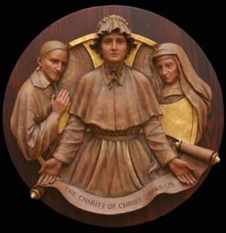 1.Mother Seton with Saints (1)