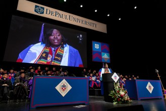 College of Law Commencement May, 2019 (DePaul University/Jeff Carrion)