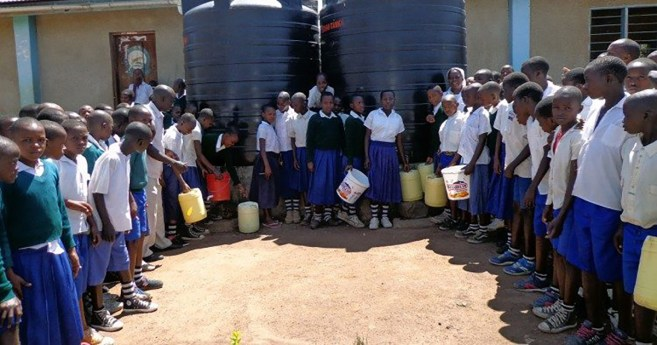 Tanzania water project provides lifegiving help to locals