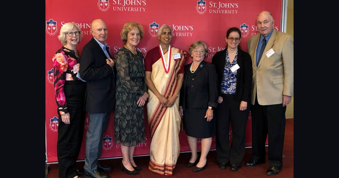 Vincentian Family Coalition at the United Nations Honored at St. John's University Convocation