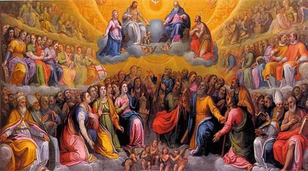 La innumerable multitud de los Santos
