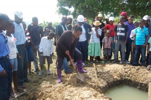 Una historia vicenciana de peces en Haití