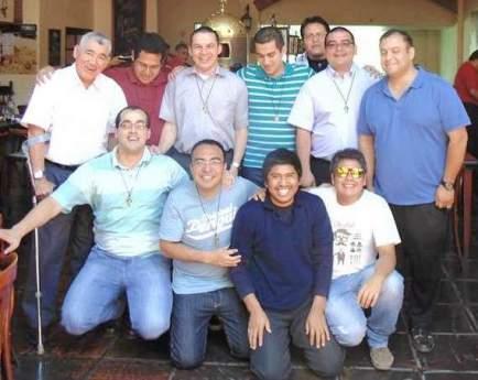 Jóvenes latinoamericanos emiten Buenos Propósitos en la Congregación de la Misión