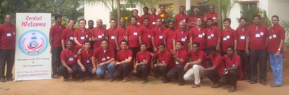 """Formadores de Asia-Pacifico en Mysore, India: """"Vicencianos en el siglo XXI y una Nueva Evangelización"""""""
