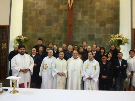 El P. Gregory Gay, Superior General de la Congregación de la Misión, de visita en Chile
