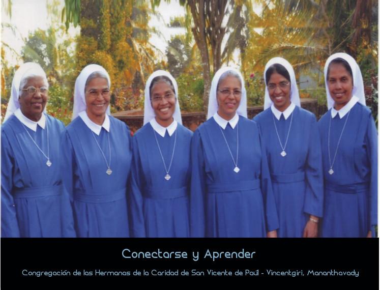 Conectarse y Aprender: Congregación de las Hermanas de la Caridad de San Vicente de Paúl – Vincentgiri, Mananthavady (SCV)