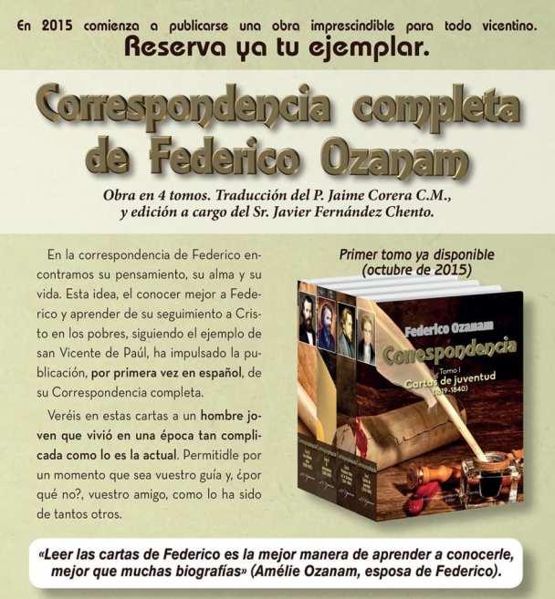 Anuncio revista Ozanam