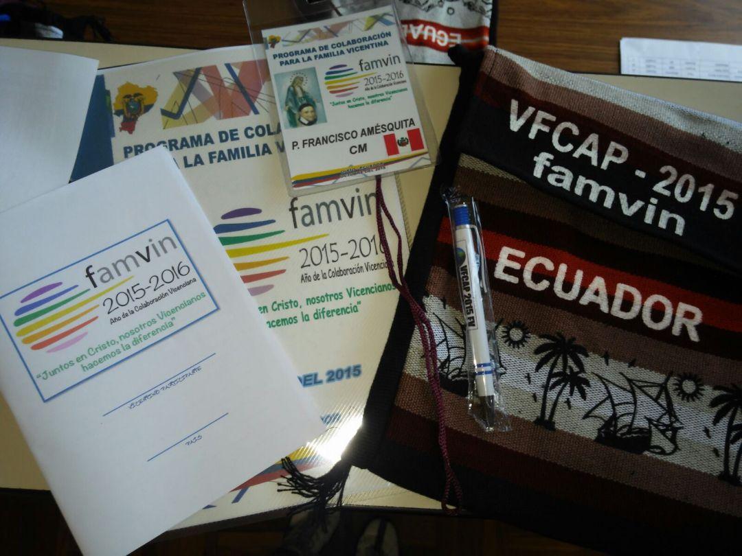 Reunión VFCAP en Quito (Ecuador)