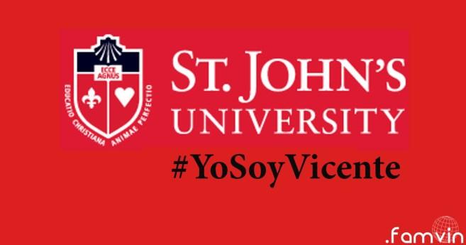 #YoSoyVicente @ Universidad de St. John: Los Vicencianos enseñan