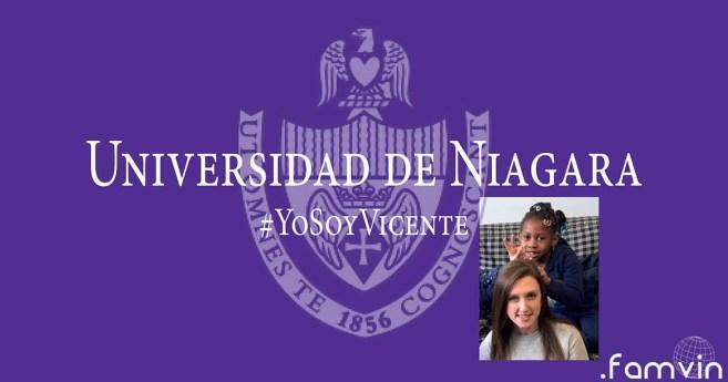 #YoSoyVicente @ Servicio Vicenciano en la Universidad de Niagara