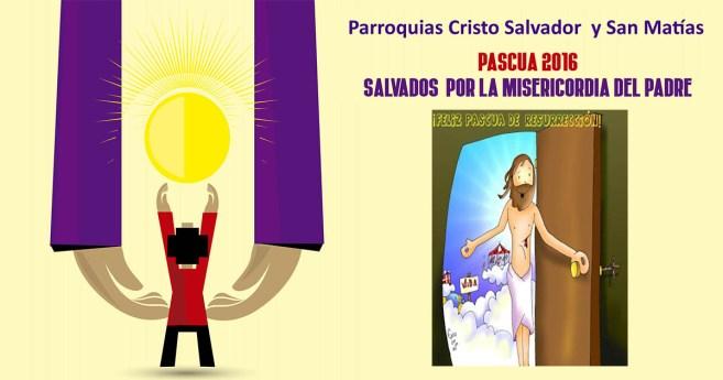 """Folleto """"Pascua 2016"""" para vivir y celebrar la Semana Santa"""