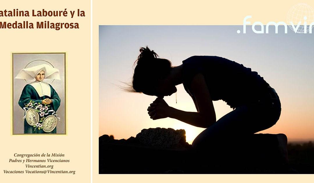 Santa Catalina Labouré, Cuaresma y Oración
