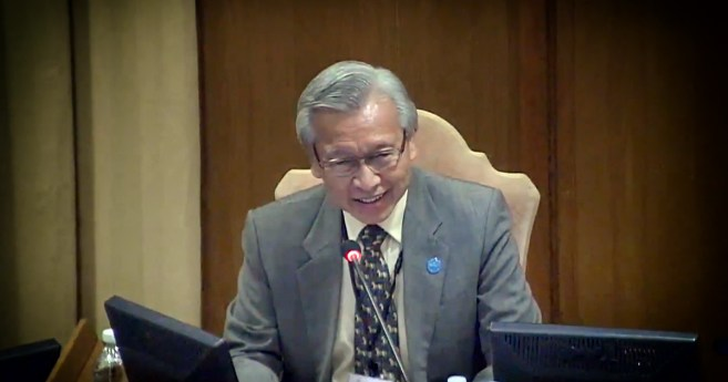 Conferencia del Dr. Michael Thio en el Vaticano