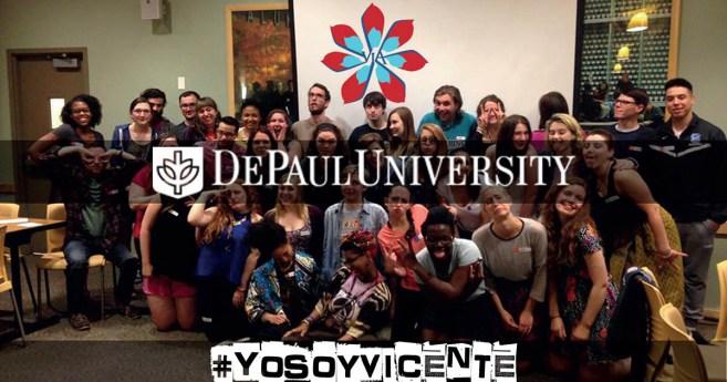 Vicencianos en acción: #YoSoyVicente @DePaul