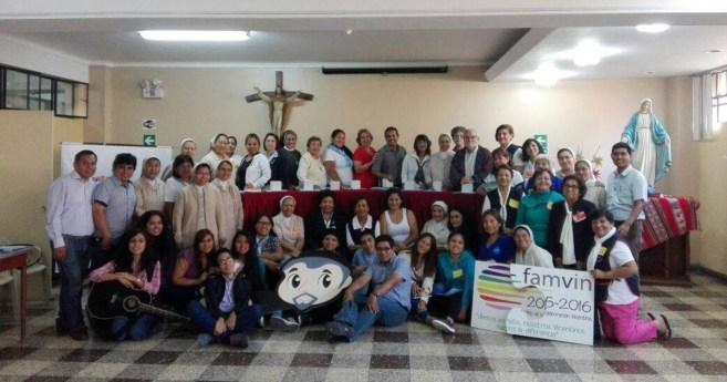 Encuentro nacional de Familia Vicenciana en Perú