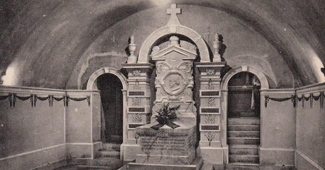 El sepulcro de Federico Ozanam, ayer y hoy