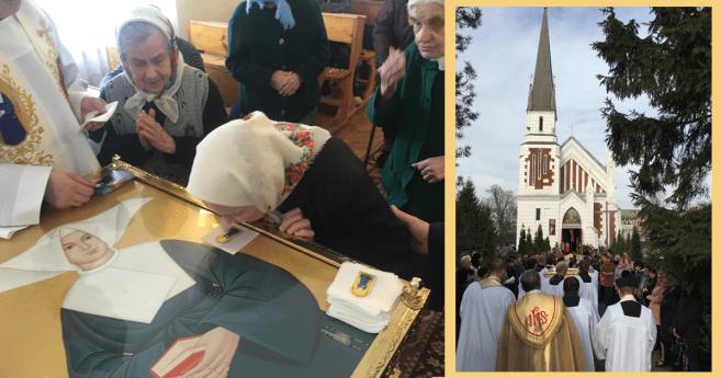 Peregrinación de las reliquias de la beata Marta Wiecka, HC