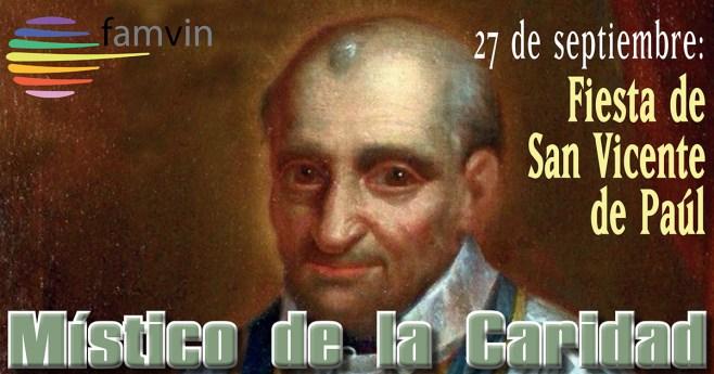 Mensaje del Superior General, P. Tomaž Mavrič, CM, para la fiesta de san Vicente de Paúl