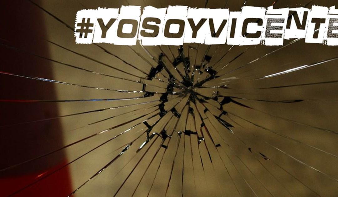 Comprometiéndome con la no violencia, #YoSoyVicente