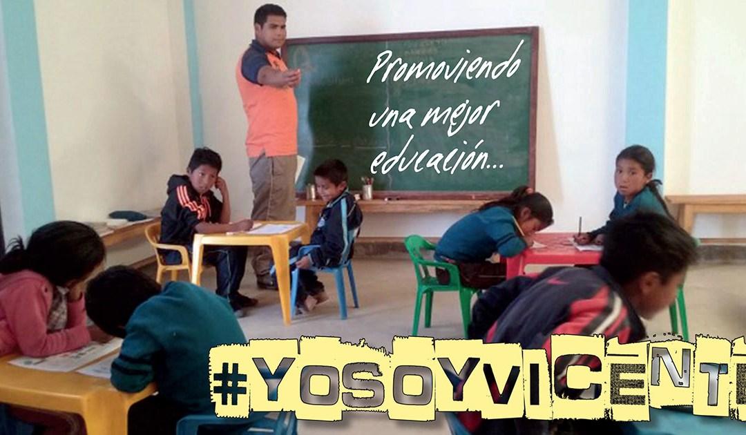 Juvenal y Ramiro: promoviendo una mejor educación en Bolivia, #YoSoyVicente