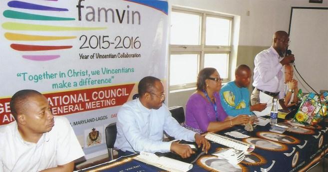 Encuentro anual de la Familia Vicenciana en Nigeria