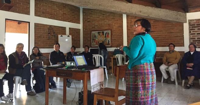 Taller de Cambio Sistémico en Quetzaltenango (Guatemala), segundo día