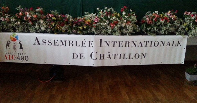 Asamblea Internacional de la AIC en Châtillon-sur-Chalaronne (Francia)