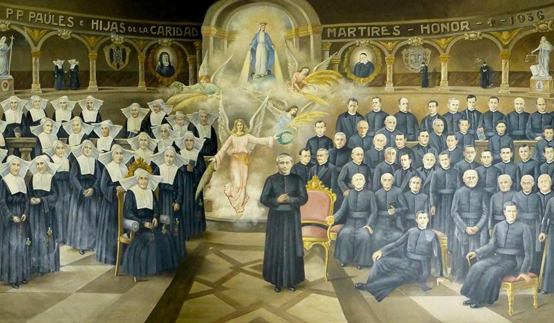 El papa promulga el decreto de beatificación de 39 vicencianos mártires de la Guerra Civil española