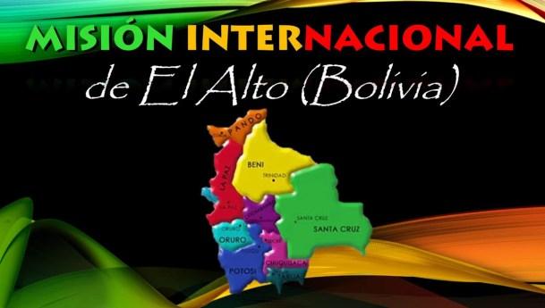 Video: Presentación de la misión internacional en El Alto, Bolivia