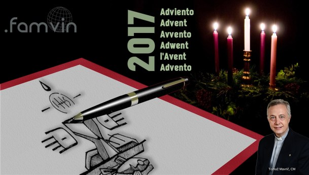 Carta de Adviento 2017 a la Familia Vicenciana, del P. Tomaž Mavrič, CM