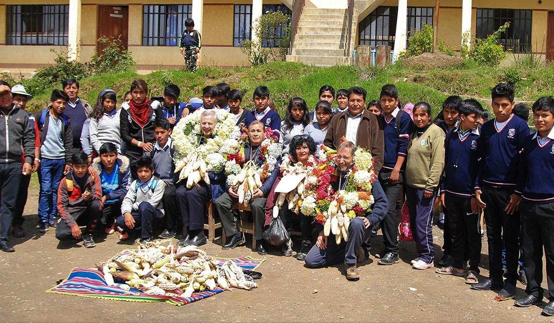 Visita del Superior General a la Misión Internacional de El Alto (Bolivia)