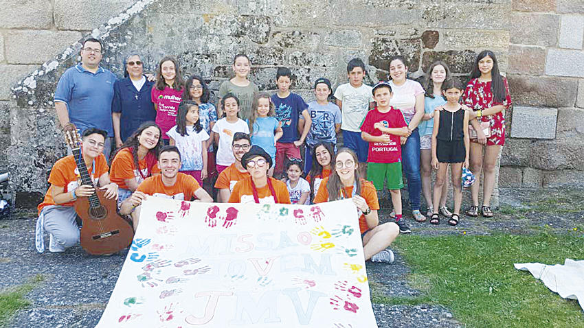 Evangelización: Juventud Mariana Vicenciana dinamizó Misión en Chaves (Portugal)