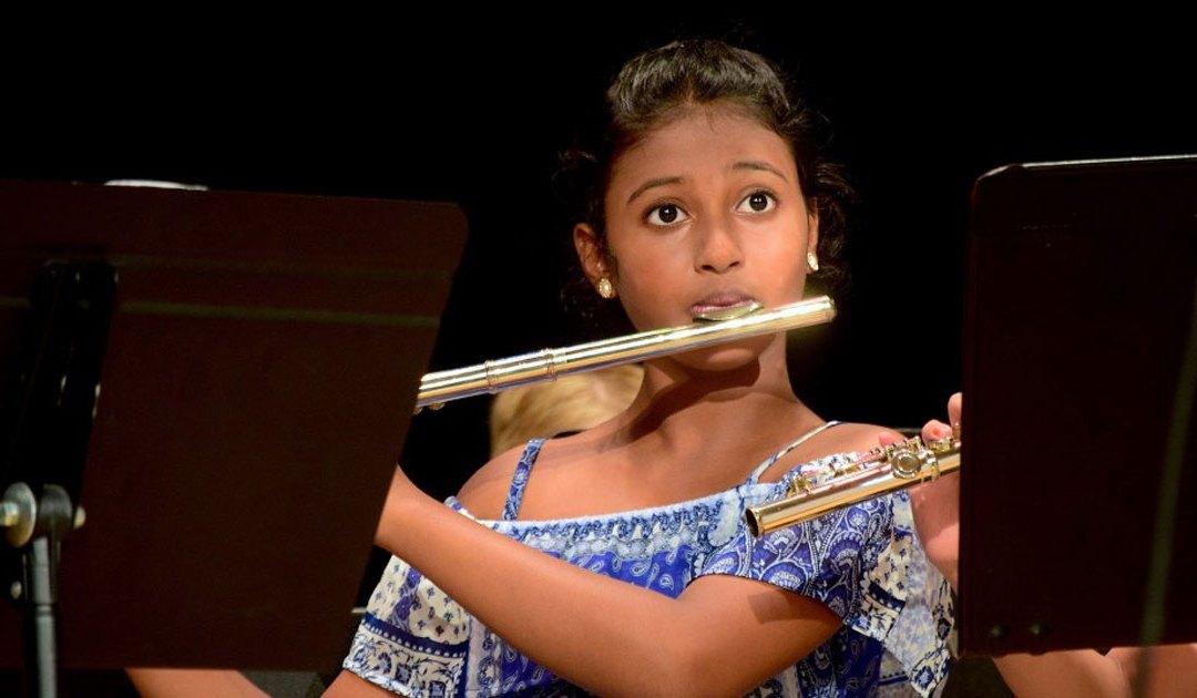 ¿Dónde está el flautín?