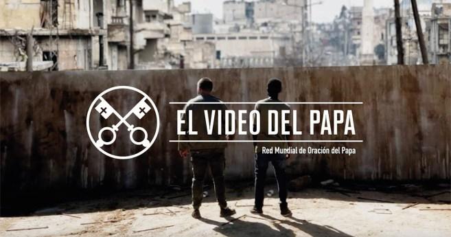 «El vídeo del Papa»: Al servicio de la paz (noviembre de 2018)