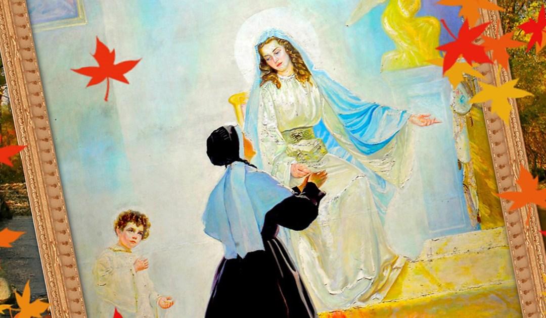 Novena a la Virgen Inmaculada de la Medalla Milagrosa (Pamplona 2018, folleto completo)