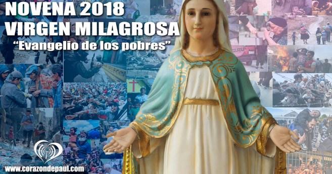 Novena a la Virgen Milagrosa (Colombia, Corazón de Paúl 2018, folleto completo)