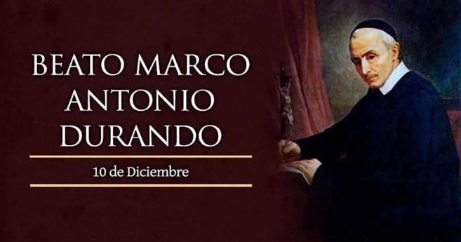 Breve biografía del beato Marco Antonio Durando
