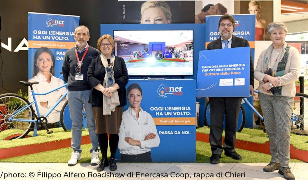 En Chieri (Turín, Italia) se pedalea para dar energía a la vivienda social vicenciana
