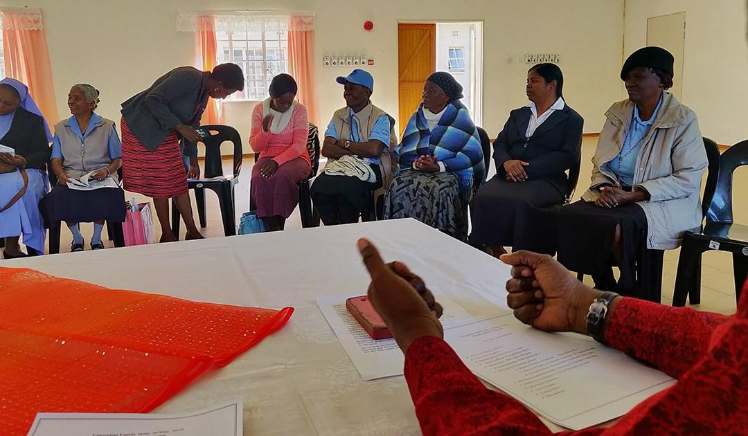 Coordinadores de la Familia Vicenciana visitan Botswana