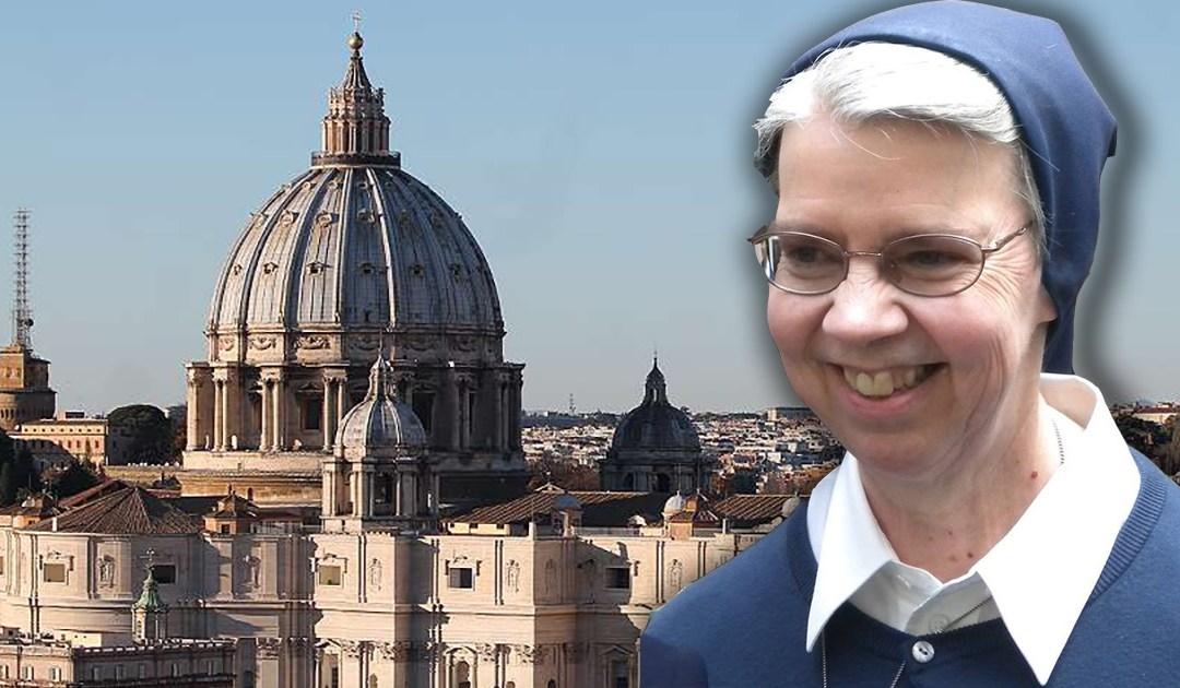 Sor Kathleen Appler, Madre General de las Hijas de la Caridad, nombrada miembro de la Congregación para la Vida Consagrada por el Papa Francisco