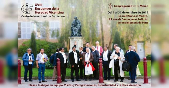 XVII encuentro CIF para miembros de la Congregación de la Misión