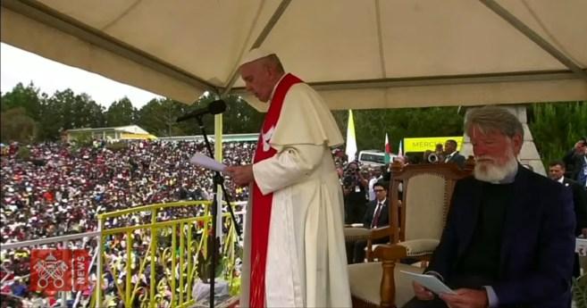 Palabras del Papa Francisco en su visita a Akamasoa