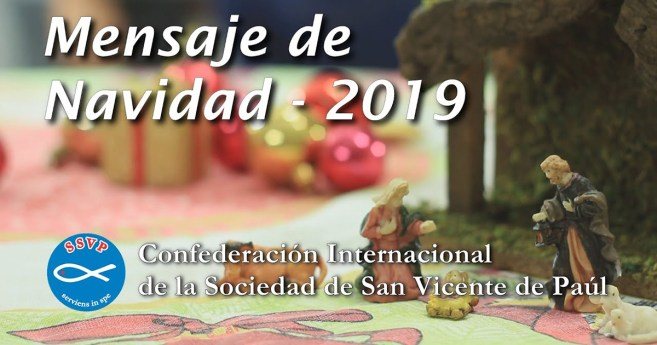 Mensaje de Navidad de Renato Lima, Presidente General de la Sociedad de San Vicente de Paúl