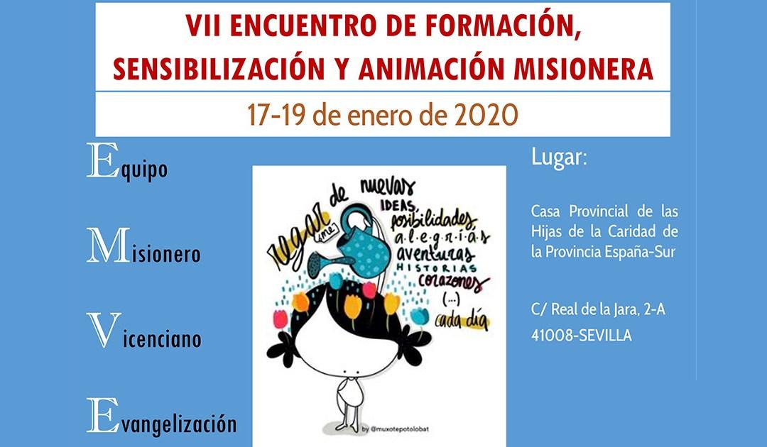 VII Encuentro de formación, sensibilización y animación misionera en España