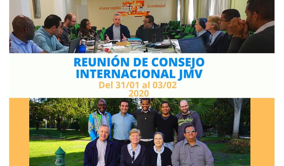 Reunión del Consejo Internacional de JMV 2020